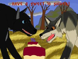Happy B-Day Shiver by Elitemonkeys