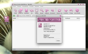 Theme WinRar Secret Archive by PrettyLadybug093