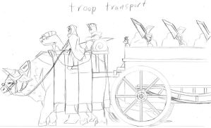 troop transport by kiahl