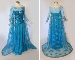 Frozen Elsa Cosplay Costume by glimmerwood