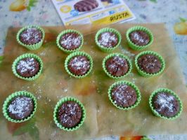 MY chocolate cupcakes XD by aerith31