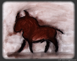 Cave painting Taurus by shy-fox