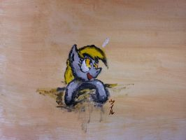 Derpy Was Here by PunchySonichu