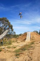 Brown No Handed Catwalk by GrantFMX
