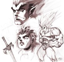 Thundercats sketches by MarioPons