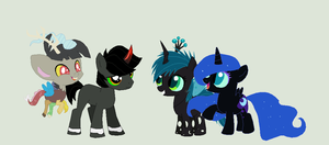 My Little Crew! by lightningkitty1352