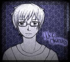 Illuminated in blue - Yukio Okumura by BlueEx0rcist