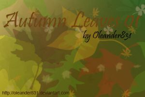Autumn Leaves 01 by Oleander831