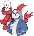 Dusttale Brothers by Animalice
