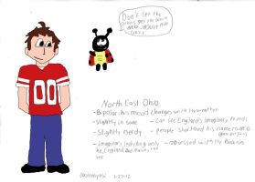 Hetalia OC Northeast Ohio colored by coolemyasi
