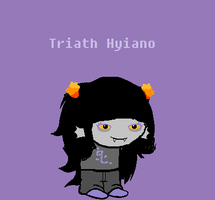 Triath Hyiano Sprite by CALIBORNOuS