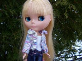 Bamboo Sweater for Blythe by ChezMichelle