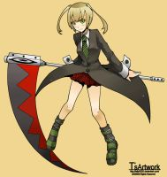 maka from soul eater by telly0050