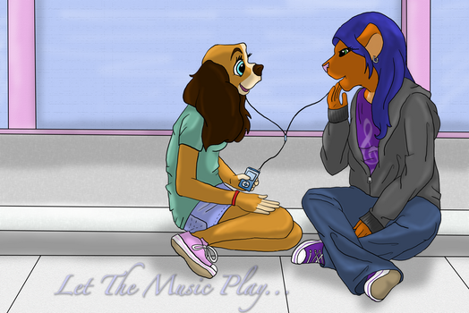 Let the Music Play by BleuKettu