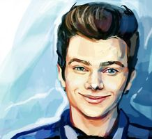 Chris Colfer by Fistis
