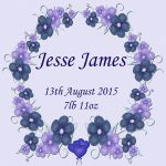 Baby Jesse James by Shirley-Agnew-Art