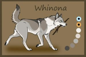 SK's Spirit Of the West: Whinona by Sedillo-Kennels