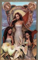 Oak Ash and Thorn Colored by PinkParasol