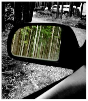 Rearview Mirror by thirtynine