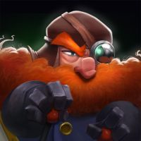 Dungeon Defenders Man in the Machine Portrait by DanielAraya