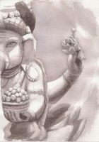 Ganesh - one of two by purpleorb