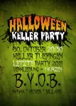 Halloween Party Flyer by TheChosenPesssimist
