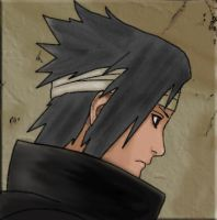 Sasuke Coloring by BelleDragon