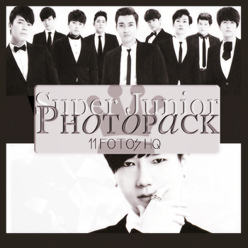 Photopack Super Junior 045 by DiamondPhotopacks