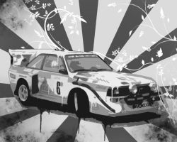 Audi S1 by xBrokenLife