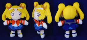 Selerity - Sailor Moon Plush by sakkysa