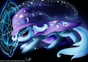 The Great and Powerful Trixie by Cappy-Aura