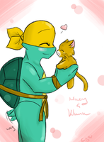 Mikey and Klunk Quick CG by GoDonatello