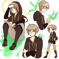 Doodle Page : Lucien by xineli