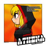 Athena OC commission by QimCheese