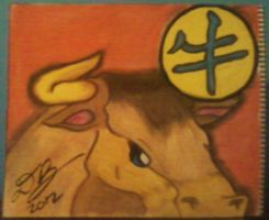 The Ox/Bull - Chinese Zodiac by Konack1