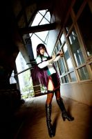Saeko Busuzma_High School of the Dead by AMPLE-COSPLAY