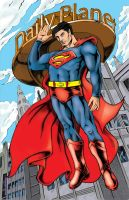 Revised Internship Work: Superman by Punch-line-designs