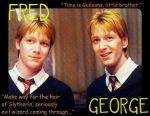 Fred and George by GothicXPrincess99