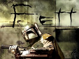 Boba Fett Wallpaper by cosmic-sweets