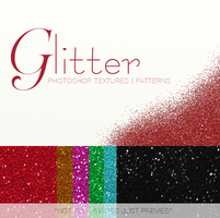 Glitter Photoshop Textures Patterns Pack FREEBIE by ShekFilters