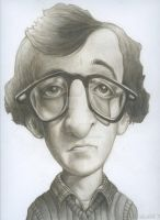 Woody Allen by Retro-Sorrento