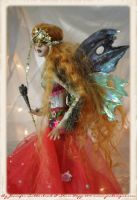Vintage actress of the theater.. ball jointed doll by SutherlandArt