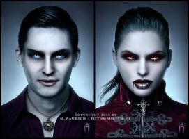 Tribute Vampire Portraits - R.I.P. WoD by KARGAIN