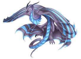 Dragcave: Nhiostrife Wyvern by birdzgoboom