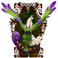 Tornadus Therian by WhiteRum