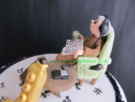 Music cake by 0970jackie