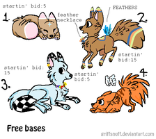 FOX/DOG/WOLF AUCTIONS! CHEAP!!! by snoopyluver5