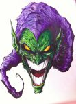 Green goblin by Tomuribecastro