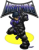 Nightwing by lordmesa