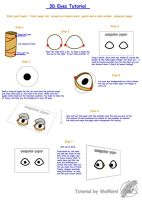 3D Eyes Tutorial by Wolfbird